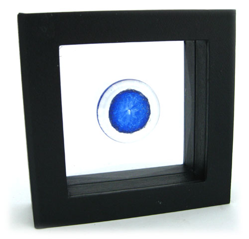 Memory Glass Touchstone in 3d Suspension Box